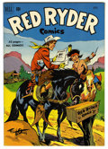Golden Age (1938-1955):Western, Red Ryder Comics #93 (Dell, 1951) Condition: NM. Fred Harman cover. Overstreet 2006 NM- 9.2 value = $85. From the John McL...