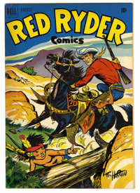 Red Ryder Comics #97 Mile High pedigree (Dell, 1951) Condition: NM-. Fred Harman cover. Overstreet 2006 NM- 9.2 value =...