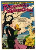 "Golden Age (1938-1955):Romance, Romantic Adventures #5 Davis Crippen (""D"" Copy) pedigree (ACG,1949) Condition: VF-. Overstreet 2006 VF 8.0 value = $44.F..."