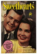 "Golden Age (1938-1955):Romance, Sweethearts #117 Davis Crippen (""D"" Copy) pedigree (Fawcett, 1952)Condition: VF. Photo cover. Overstreet 2006 VF 8.0 value ..."