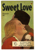 "Golden Age (1938-1955):Romance, Sweet Love #1 Davis Crippen (""D"" Copy) pedigree (Harvey, 1949) Condition: VF+. Photo cover. Overstreet 2006 VF 8.0 value = $..."