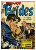 "Golden Age (1938-1955):Romance, Teen-Age Brides #2 Davis Crippen (""D"" Copy) pedigree (Harvey, 1953)Condition: VF-. Bob Powell art. Overstreet 2006 VF 8.0 v..."