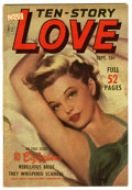 """Golden Age (1938-1955):Romance, Ten Story Love V29#4 Davis Crippen (""""D"""" Copy) pedigree (Ace, 1951)Condition: VF/NM. Painted cover. Overstreet 2006 VF/NM 9...."""