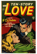 "Golden Age (1938-1955):Romance, Ten Story Love V29#6 Davis Crippen (""D"" Copy) pedigree (Ace, 1952)Condition: VF. Overstreet 2006 VF 8.0 value = $44. From..."