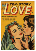 "Golden Age (1938-1955):Romance, Ten Story Love V30#2 Davis Crippen (""D"" Copy) pedigree (Ace, 1952)Condition: VF/NM. Overstreet 2006 VF/NM 9.0 value = $54; ..."