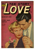 "Golden Age (1938-1955):Romance, Ten Story Love V30#5 Davis Crippen (""D"" Copy) pedigree (Ace, 1952)Condition: VF. Photo cover. Overstreet 2006 VF 8.0 value ..."