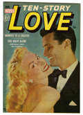 "Golden Age (1938-1955):Romance, Ten Story Love V30#6 Davis Crippen (""D"" Copy) pedigree (Ace, 1953)Condition: NM. Photo cover. Overstreet 2006 NM- 9.2 value..."