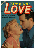 "Golden Age (1938-1955):Romance, Ten Story Love V32#5 Davis Crippen (""D"" Copy) pedigree (Ace, 1953)Condition: NM-. Photo cover. Overstreet 2006 NM- 9.2 valu..."