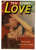 "Golden Age (1938-1955):Romance, Ten Story Love V32#6 Davis Crippen (""D"" Copy) pedigree (Ace, 1953)Condition: FN-. Photo cover. Overstreet 2006 FN 6.0 value..."