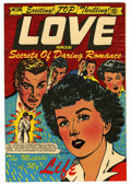 "Golden Age (1938-1955):Romance, Top Love Stories #14 Davis Crippen (""D"" Copy) pedigree (Star, 1953)Condition: FN+. L. B. Cole cover. Overstreet 2006 FN 6.0..."