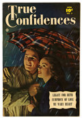"Golden Age (1938-1955):Romance, True Confidences #3 Davis Crippen (""D"" Copy) pedigree (Fawcett,1950) Condition: VF-. Photo cover. Marc Swayze art. Overstre..."