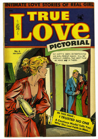 "True Love Pictorial #6 Davis Crippen (""D"" Copy) pedigree (St. John, 1953) Condition: VF. Matt Baker cover and..."