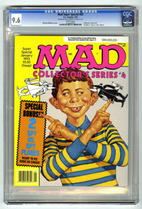 """Mad Special #85 (EC, 1993) CGC NM+ 9.6 White pages. Collector's Series #4. Includes """"Spy vs. Spy"""" planes. Rich..."""