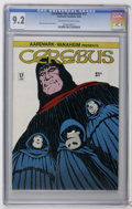 Modern Age (1980-Present):Alternative/Underground, Cerebus The Aardvark #17 (Aardvark-Vanaheim, 1980) CGC NM- 9.2 Off-white to white pages. Dave Sim story, cover, and art. Ove...