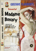 "Original Comic Art:Covers, ""Madame Bovary"" British Paperback Cover (undated). Even theclassics were treated to hot and steamy cover scenes in the heyd..."