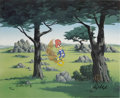 "Animation Art:Limited Edition Cel, ""In the Rough"" Limited Edition Hand-Painted Cel #94/100 OriginalArt (Walter Lantz Productions, 1992). This limited edition ...(Total: 2 Items)"