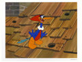 "Animation Art:Limited Edition Cel, ""Rooftop Woody Woodpecker"" Hand Painted Cel #196/200 Original Art(Walter Lantz Productions, 1991). Woody Woodpecker pecks o...(Total: 2 Items)"