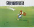 "Animation Art:Limited Edition Cel, ""Fly Ball"" Limited Edition Hand Painted Cel #59/200 Original Art(Walter Lantz Productions, 1992). This hand painted limited...(Total: 2 Items)"