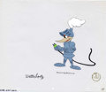 Animation Art:Production Cel, Woody Woodpecker Animation Production Cel Original Art (WalterLantz Productions, undated). A chivalrous Woody searches for ...(Total: 2 Items)