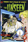 Original Comic Art:Miscellaneous, The Unseen #13 Printer's Proof (Standard, 1954). A corpse carrieshis corpse bride over the threshold, in this spine-tinglin...