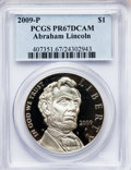 Modern Issues, 2009-P $1 Lincoln PR67 Deep Cameo PCGS. PCGS Population (54/8698).NGC Census: (17/17129). (#407351)...
