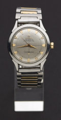 Timepieces:Wristwatch, Omega Bumper Automatic Chronometre Constellation Wristwatch. ...