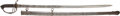 Edged Weapons:Swords, British Pattern 1821 Artillery Officer's Saber With Double Etched Blade...