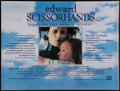 "Movie Posters:Fantasy, Edward Scissorhands (20th Century Fox, 1990). British Quad (30"" X40""). Fantasy.. ..."