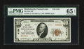 National Bank Notes:Pennsylvania, Middleburgh, PA - $10 1929 Ty. 2 The First NB Ch. # 4156. ...