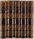Books:Fine Bindings & Library Sets, Edmund Spenser. The Poetical Works. Five octavo volumes. Leather bindings. Later American edition. Fair. Unless othe... (Total: 5 Items)