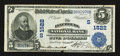 National Bank Notes:Virginia, Lynchburg, VA - $5 1902 Date Back Fr. 591 The Lynchburg NB Ch. #(S)1522. ...