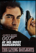 "Movie Posters:James Bond, The Living Daylights (United Artists, 1987). One Sheet (27"" X 40"").SS Advance. James Bond.. ..."