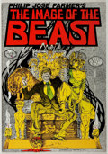 Books:Horror & Supernatural, Philip Jose Farmer. SIGNED. The Image of the Beast. Comicbook original. Adults only. Quarto. Original wrappers....