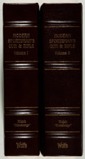 Books:Sporting Books, [Hunting]. J. H. Walsh. The Modern Sportsman's Gun andRifle. Reprint. Two volumes. Quarter leather binding. Nearfi... (Total: 2 Items)