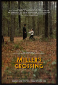 "Movie Posters:Crime, Miller's Crossing (20th Century Fox, 1990). One Sheet (27"" X 40"")DS Advance. Crime.. ..."