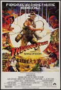 "Movie Posters:Adventure, Indiana Jones and the Temple of Doom (Paramount, 1984). British OneSheet (27"" X 39.75""). Adventure.. ..."