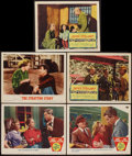 "Movie Posters:Sports, The Stratton Story & Others Lot (MGM, 1949 & R-1956). Lobby Cards (9) (11"" X 14""). Sports.. ... (Total: 9 Items)"