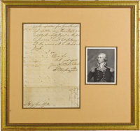 General Washington tells General Clinton he has ordered General Lincoln into Massachusetts to raise troops; those he had...