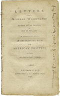 Books:Pamphlets & Tracts, 1795 Letters From General Washington to Several of hisFriends, (Philadelphia: Federal Press, 1795), 44 pages,disbound,...