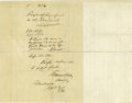 "Autographs:U.S. Presidents, Published Abraham Lincoln Autograph Endorsement Signed ""A. Lincoln"", Washington, D.C., September 28, 1861. Written on th..."