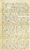Autographs:U.S. Presidents, Abraham Lincoln Unsigned Autograph Document. Vermilion Co., Ill., 1 November 1855, one and one-quarter pages, folio. A bond ...