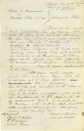 "Autographs:U.S. Presidents, Lincoln Law Partner William Henry Herndon Autograph Document Signed""Lincoln & Herndon Sol for Compl"". Sangamon Co. (Ill..."