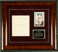 """Autographs:U.S. Presidents, Theodore Roosevelt Typed Letter Signed """"T. Roosevelt"""", one page, 7.5"""" x 8.75"""", Navy Department stationery, Washington, D..."""