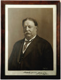 Autographs:U.S. Presidents, William Howard Taft Signed Photograph. Here we have a very fine,signed photograph of the 27th president. This black and whi...