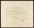 "Autographs:U.S. Presidents, Lyndon B. Johnson Document Signed. One page, 22.5"" x 17"",Washington D.C., January 2, 1968. This is an appointment thatanno..."