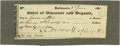 "Autographs:Statesmen, Declaration Signer Charles Carroll of Carrollton Checks Signed""Ch. Carroll of Carrollton"". Two items are included. The ...(Total: 2 items)"