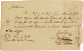 "Autographs:Statesmen, George Clymer Autograph Document Signed: ""Geo Clymer"", onepage, 8.25"" x 5"", Philadelphia, Pennsylvania, March 8, 1776. ..."