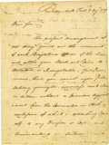 Autographs:Military Figures, War-Dated Autograph Letter Signed of Revolutionary Mordecai GeneralGist to Nathanael Greene Fine ALS, as brigadier general,...