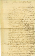 "Autographs:Non-American, King William IV of England- Autograph Document Signed ""WilliamR."" One page, 4.5"" x 7.25"", Brighton, February 2, 1835. I..."