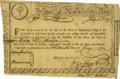 Autographs:Statesmen, Paul Revere Vignetted Treasury Certificate. Partly-printeddocument, Massachusetts Bay, July 15, 1779. Six percent interest...